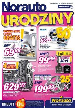 Gazetka promocyjna Norauto, ważna od 18.09.2014 do 15.10.2014.