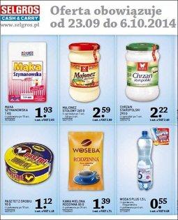 Gazetka promocyjna Selgros Cash&Carry, ważna od 23.09.2014 do 06.10.2014.