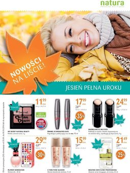 Gazetka promocyjna Drogerie Natura, ważna od 25.09.2014 do 08.10.2014.