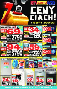 Gazetka promocyjna RTV EURO AGD, ważna od 26.09.2014 do 31.10.2014.