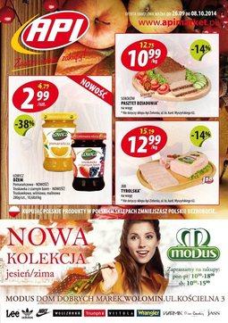 Gazetka promocyjna Api Market, ważna od 26.09.2014 do 08.10.2014.
