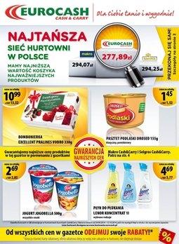 Gazetka promocyjna Eurocash Cash&Carry, ważna od 29.09.2014 do 12.10.2014.