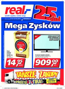 Gazetka promocyjna Real, ważna od 01.10.2014 do 07.10.2014.