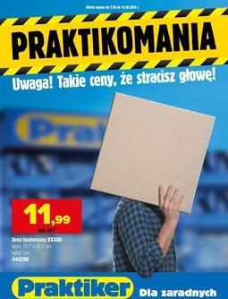 Gazetka promocyjna Praktiker, ważna od 02.10.2014 do 14.10.2014.