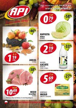 Gazetka promocyjna Api Market, ważna od 03.10.2014 do 09.10.2014.