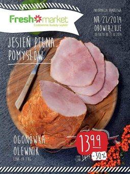 Gazetka promocyjna Freshmarket, ważna od 08.10.2014 do 21.10.2014.