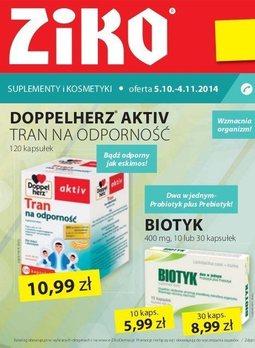 Gazetka promocyjna Ziko Dermo , ważna od 05.10.2014 do 04.11.2014.