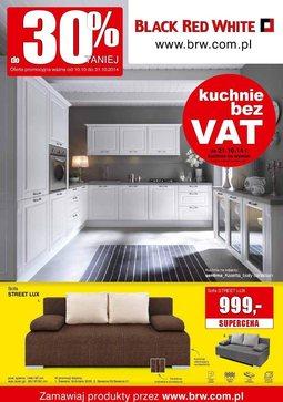 Gazetka promocyjna Black Red White, ważna od 10.10.2014 do 31.10.2014.