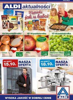 Gazetka promocyjna Aldi, ważna od 15.10.2014 do 20.10.2014.