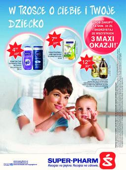 Gazetka promocyjna Super-Pharm, ważna od 16.10.2014 do 29.10.2014.