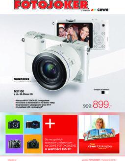 Gazetka promocyjna Fotojoker, ważna od 01.10.2014 do 31.10.2014.