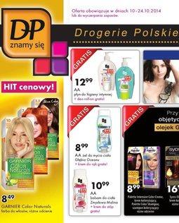 Gazetka promocyjna Drogerie Polskie, ważna od 10.10.2014 do 24.10.2014.