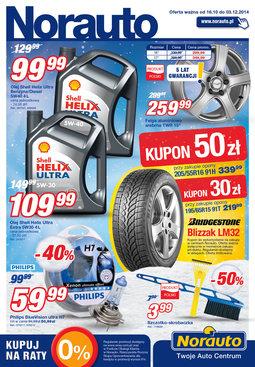 Gazetka promocyjna Norauto, ważna od 16.10.2014 do 03.12.2014.