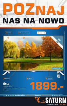 Gazetka promocyjna Saturn, ważna od 16.10.2014 do 22.10.2014.