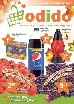Gazetka promocyjna ODIDO, ważna od 17.10.2014 do 29.10.2014.