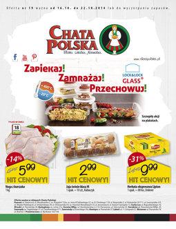 Gazetka promocyjna Chata Polska, ważna od 16.10.2014 do 22.10.2014.