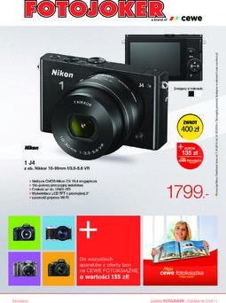 Gazetka promocyjna Fotojoker, ważna od 01.10.2014 do 17.11.2014.