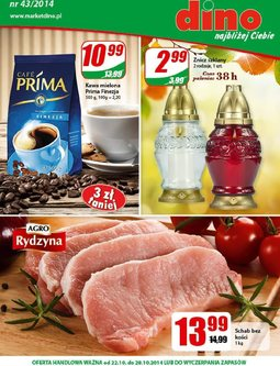 Gazetka promocyjna Dino, ważna od 22.10.2014 do 28.10.2014.