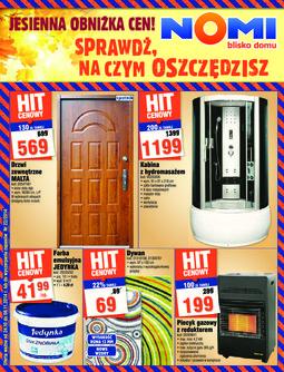 Gazetka promocyjna Nomi, ważna od 24.10.2014 do 06.11.2014.