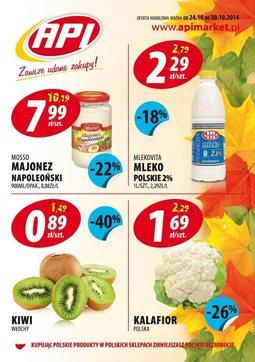 Gazetka promocyjna Api Market, ważna od 24.10.2014 do 30.10.2014.