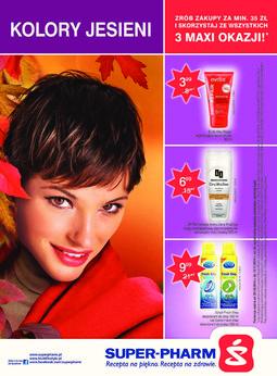 Gazetka promocyjna Super-Pharm, ważna od 30.10.2014 do 12.11.2014.