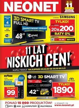 Gazetka promocyjna Neonet, ważna od 30.10.2014 do 05.11.2014.