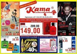 Gazetka promocyjna Kama Beauty, ważna od 11.06.2013 do 26.06.2013.