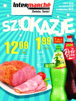 Gazetka promocyjna Intermarche, ważna od 06.11.2014 do 10.11.2014.