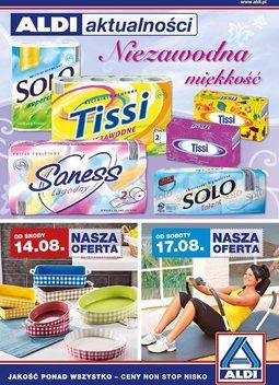 Gazetka promocyjna Aldi, ważna od 14.08.2013 do 20.08.2013.