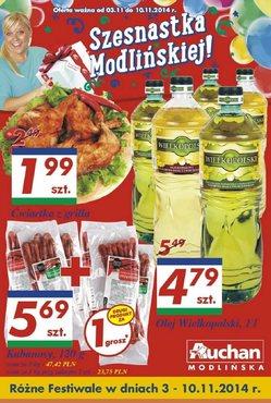Gazetka promocyjna Auchan, ważna od 03.11.2014 do 10.11.2014.