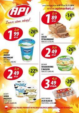 Gazetka promocyjna Api Market, ważna od 07.11.2014 do 13.11.2014.