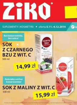Gazetka promocyjna Ziko Dermo , ważna od 05.11.2014 do 04.12.2014.