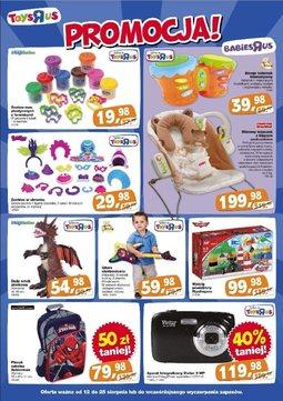 """Gazetka promocyjna Toys""""R""""Us, ważna od 12.08.2013 do 25.08.2013."""