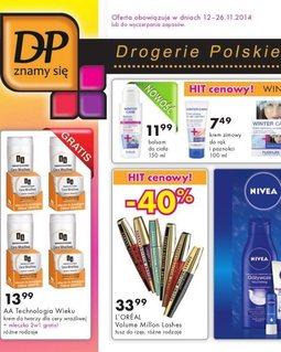 Gazetka promocyjna Drogerie Polskie, ważna od 12.11.2014 do 26.11.2014.