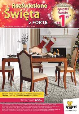 Gazetka promocyjna Forte, ważna od 14.11.2014 do 24.11.2014.