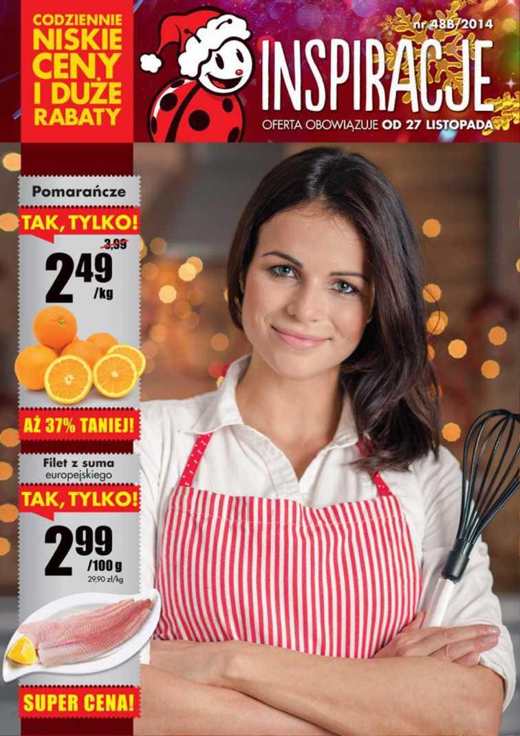 Gazetka sieci Biedronka, ważna od 2014-11-27 do 2014-11-30, strona 1