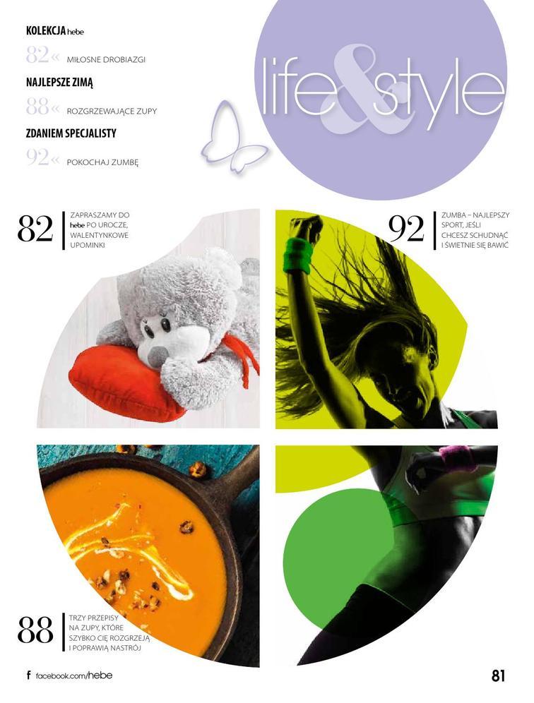 Gazetka sieci Drogeria Hebe, ważna od 2015-02-01 do 2015-02-28, strona 82