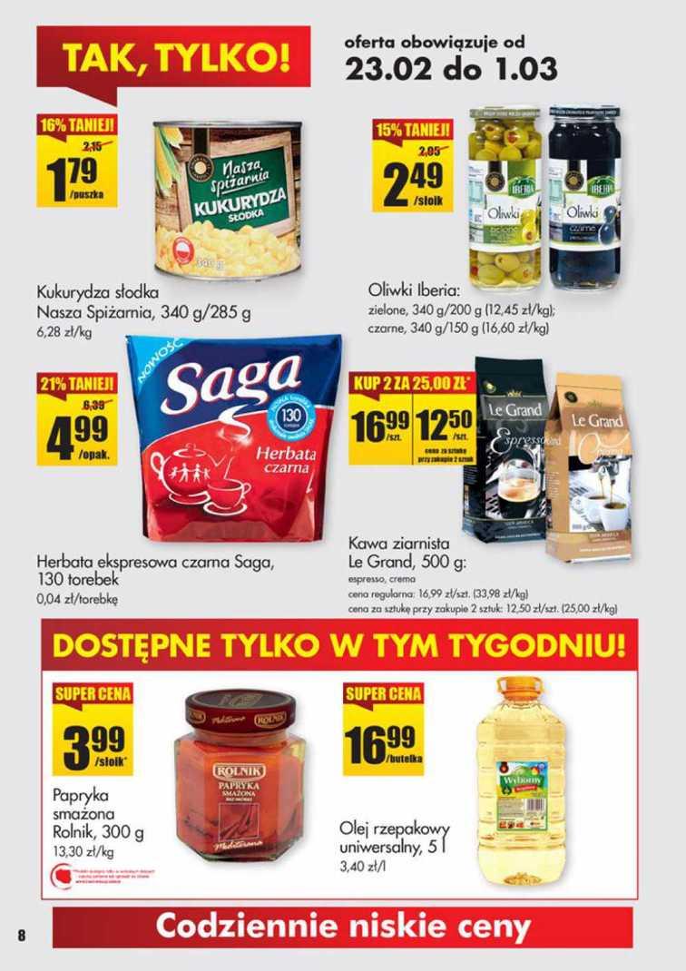 Gazetka sieci Biedronka, ważna od 2015-02-23 do 2015-03-01, strona 8