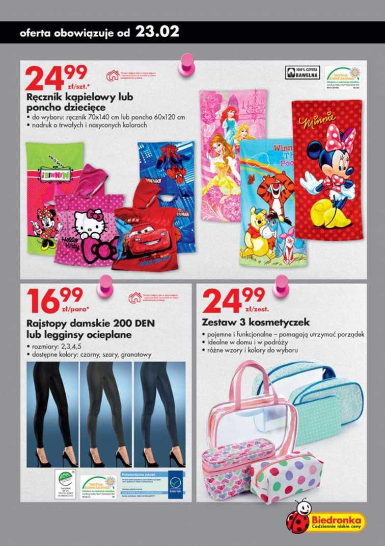 Gazetka sieci Biedronka, ważna od 2015-02-23 do 2015-03-01, strona 17