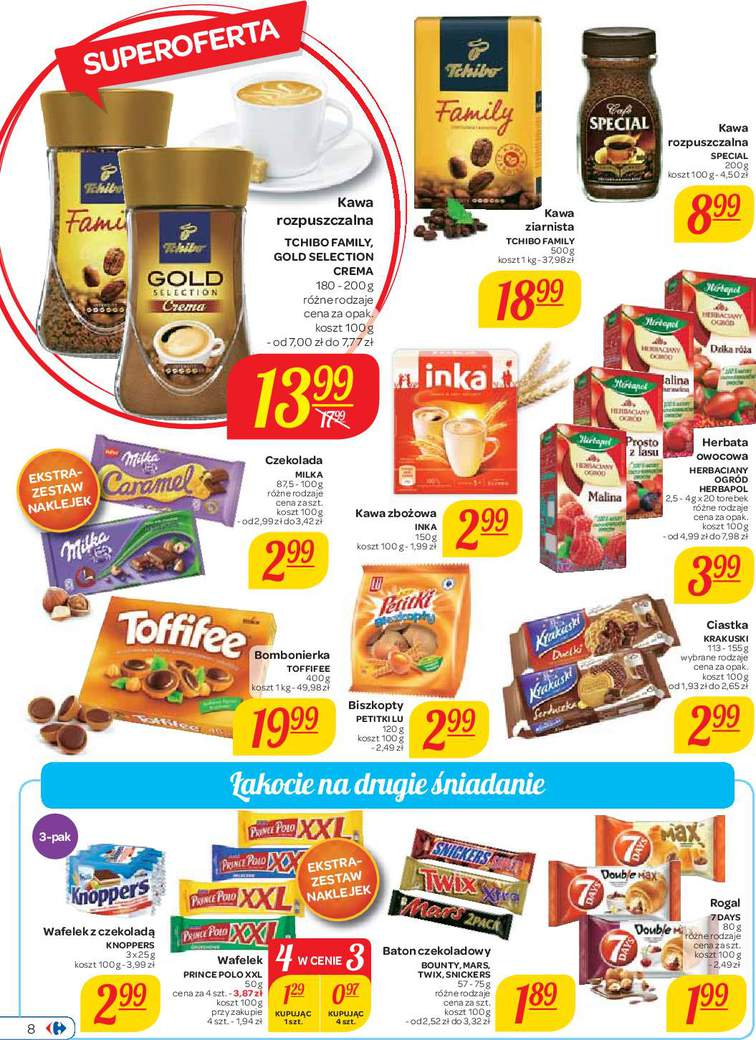 Gazetka sieci Carrefour, ważna od 2015-09-01 do 2015-09-14, strona 8