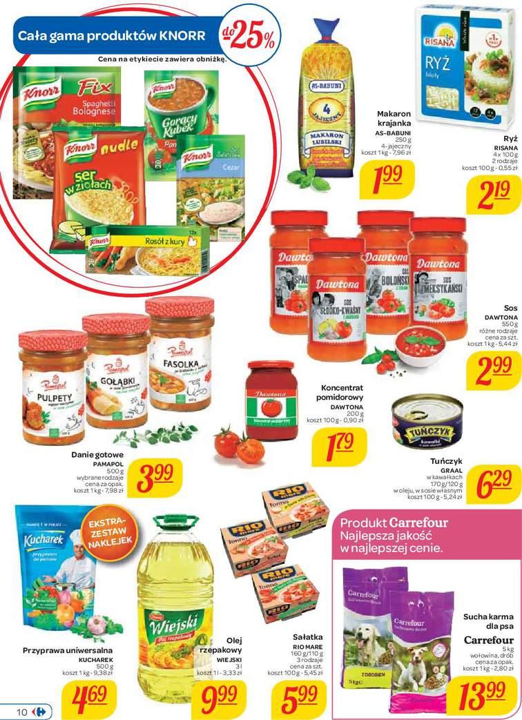 Gazetka sieci Carrefour, ważna od 2015-09-01 do 2015-09-14, strona 10