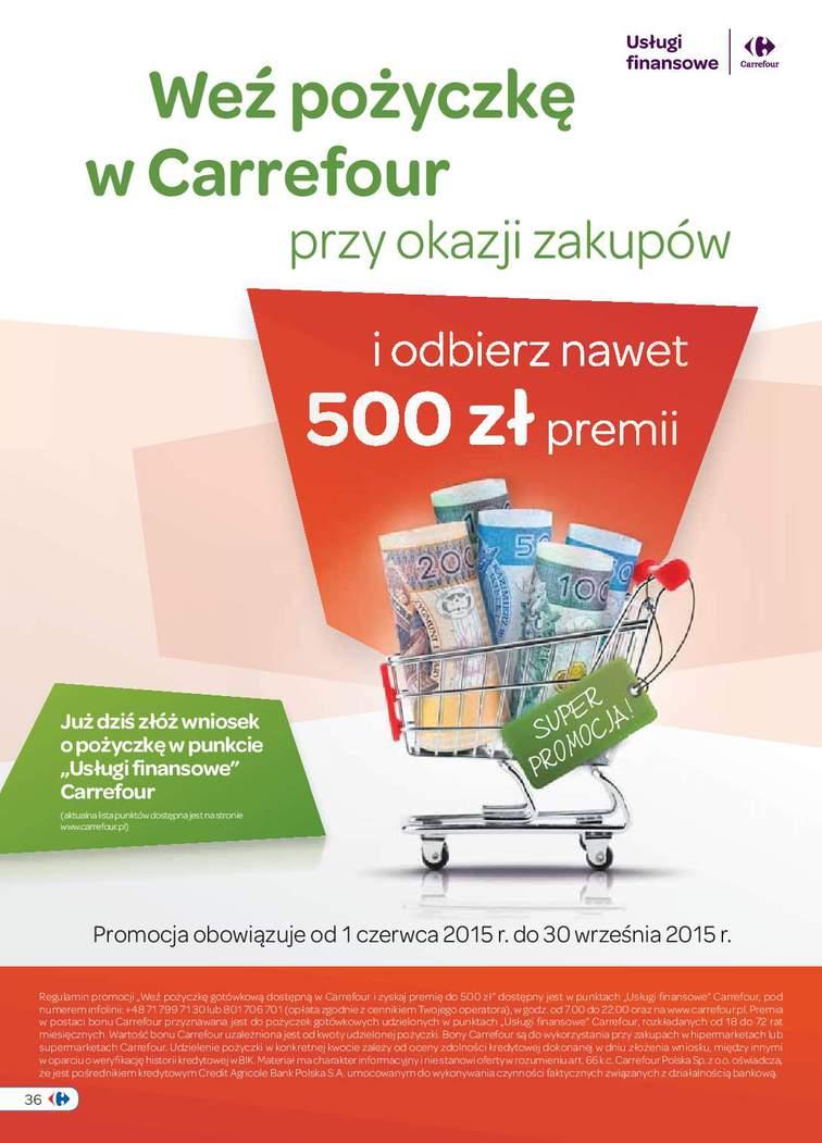 Gazetka sieci Carrefour, ważna od 2015-09-01 do 2015-09-14, strona 36