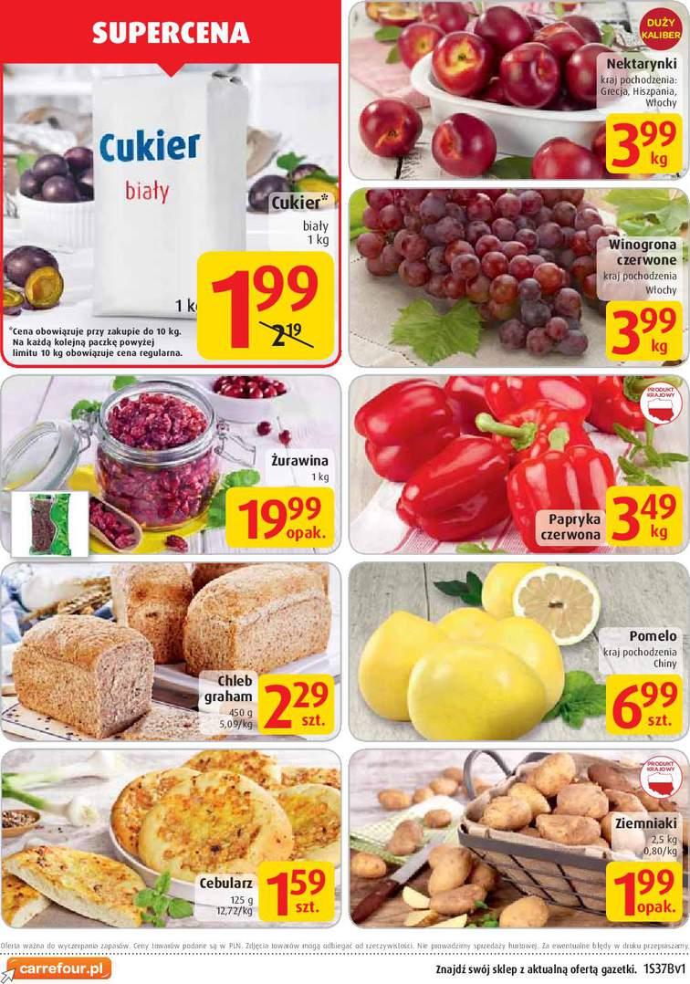Gazetka sieci Carrefour, ważna od 2015-09-09 do 2015-09-15, strona 2