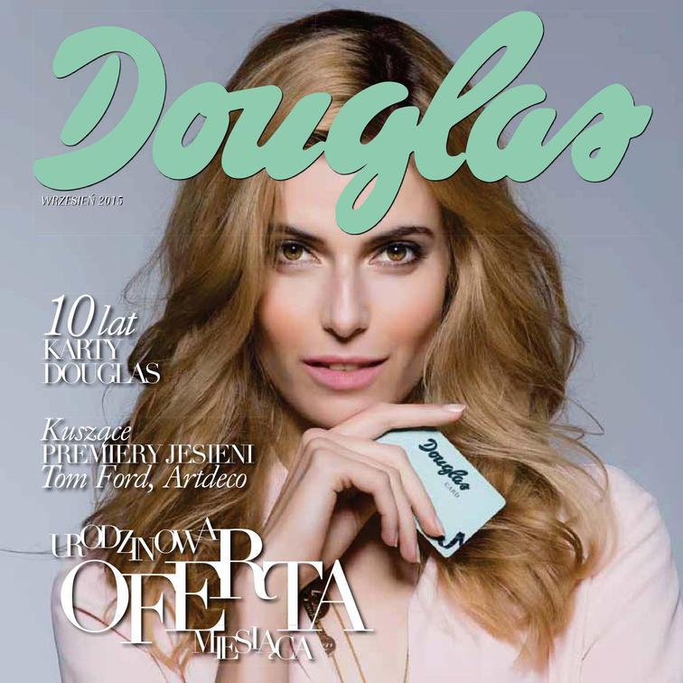 Gazetka sieci Douglas, ważna od 2015-09-01 do 2015-09-30, strona 1