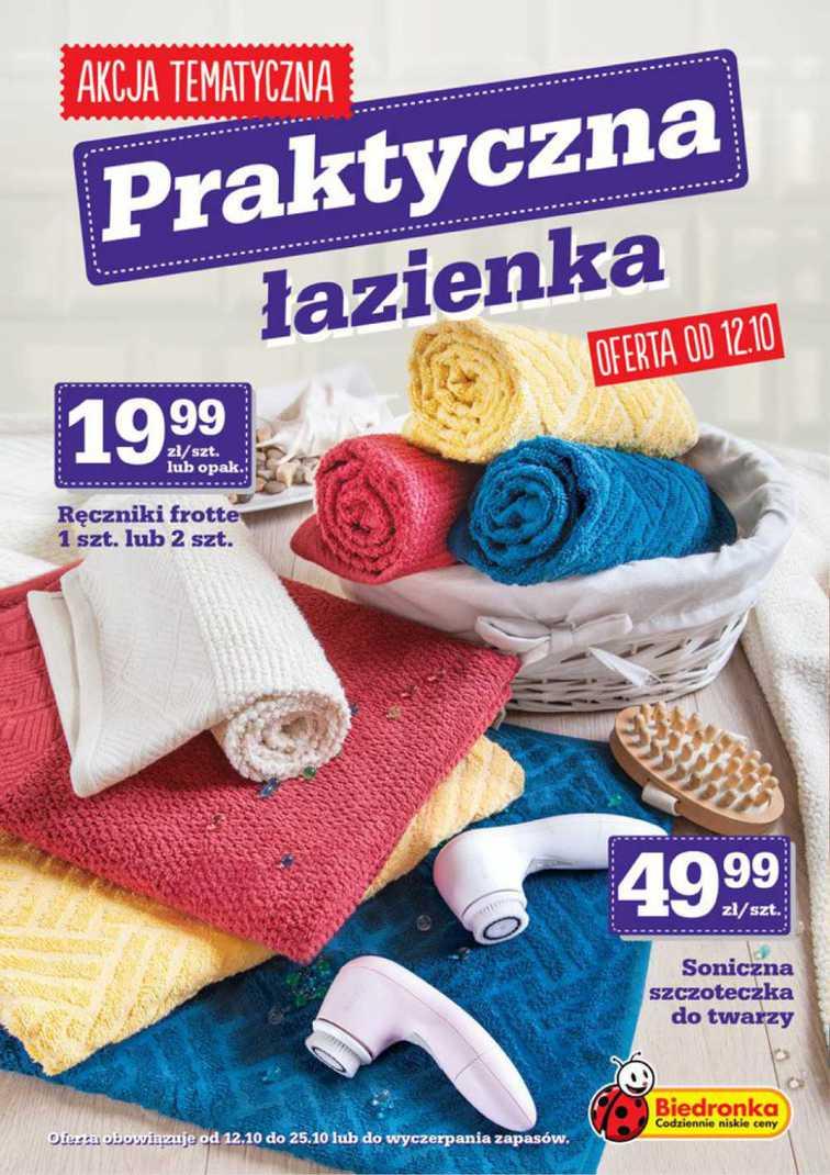 Gazetka sieci Biedronka, ważna od 2015-10-12 do 2015-10-25, strona 1