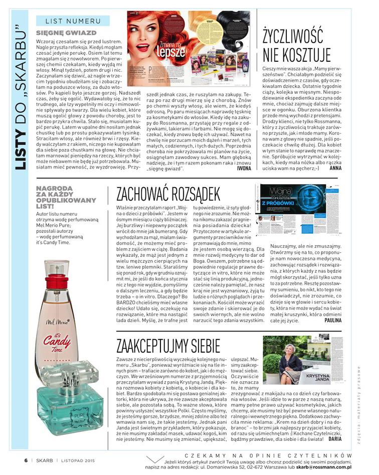 Gazetka sieci Rossmann, ważna od 2015-11-01 do 2015-11-30, strona 6