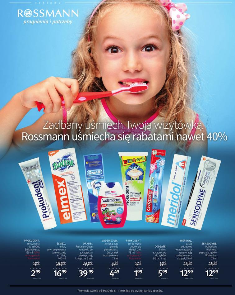 Gazetka sieci Rossmann, ważna od 2015-11-01 do 2015-11-30, strona 76