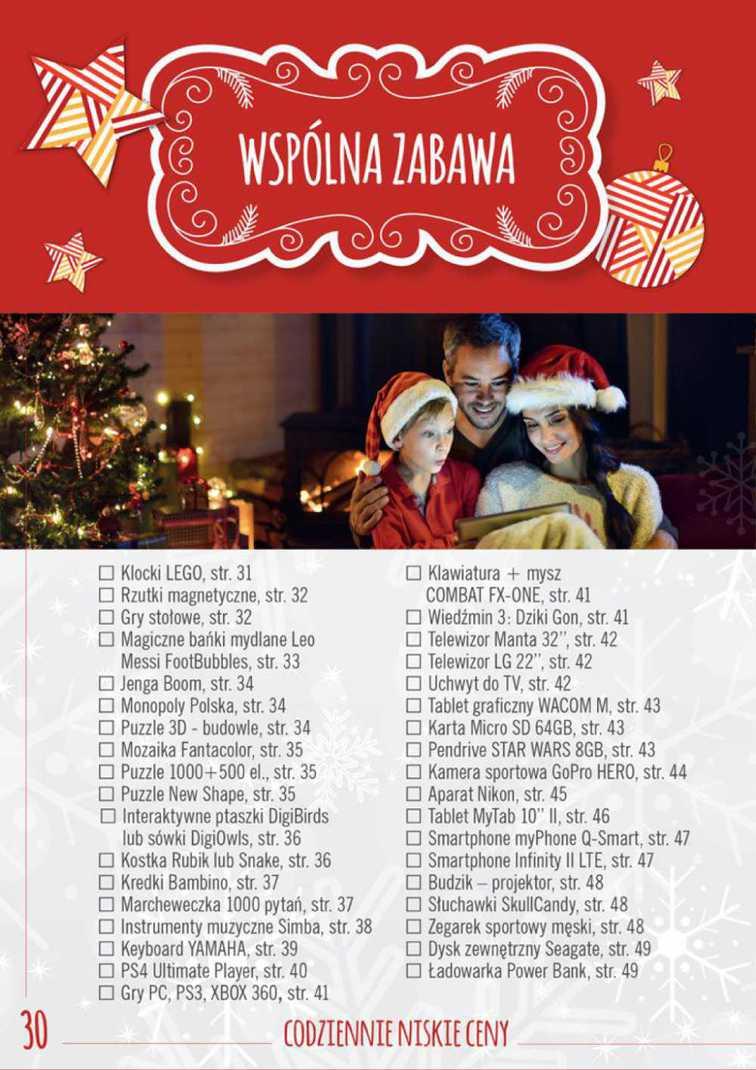 Gazetka sieci Biedronka, ważna od 2015-11-16 do 2015-12-13, strona 29