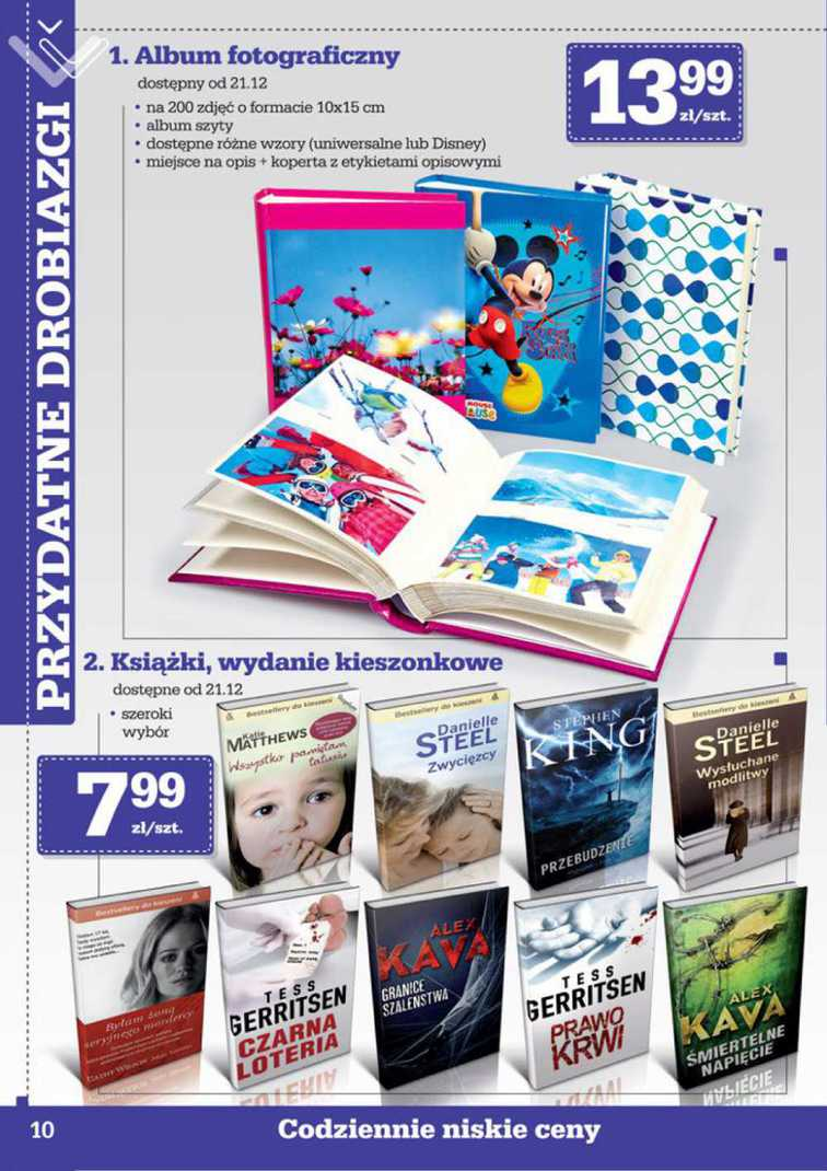 Gazetka sieci Biedronka, ważna od 2015-12-21 do 2016-01-03, strona 10
