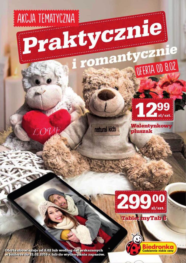 Gazetka sieci Biedronka, ważna od 2016-02-08 do 2016-02-21, strona 1